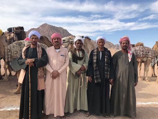 الهجانة يستعدون لمشاركة قوية بمهرجان شرم الشيخ التراثى برعاية الإمارات (6)