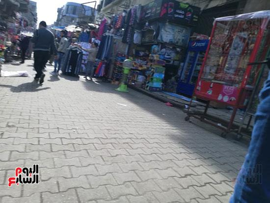 انتشار الباعة الجائلين بشوراع محافظة الجيزة  (16)