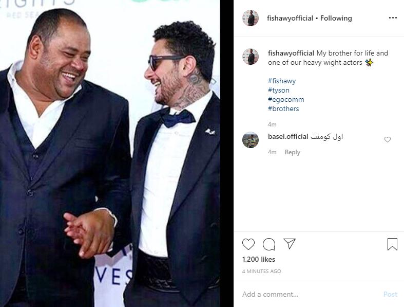 أحمد الفيشاوى و محمد ممدوح