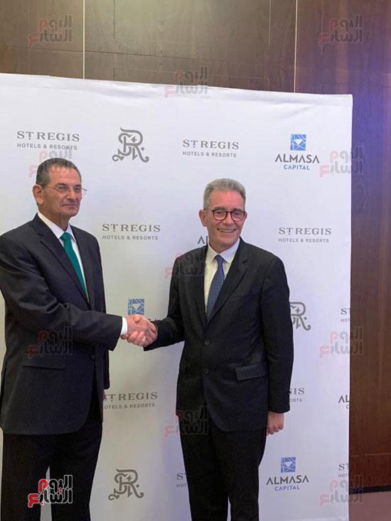 توقيع عقد إدارة ماريوت العالمية لفندق الماسة بالعاصمة الإدارية (5)