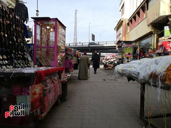انتشار الباعة الجائلين بشوراع محافظة الجيزة  (14)