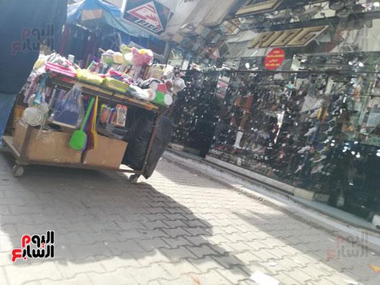انتشار الباعة الجائلين بشوراع محافظة الجيزة  (5)