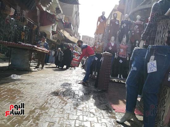 انتشار الباعة الجائلين بشوراع محافظة الجيزة  (20)
