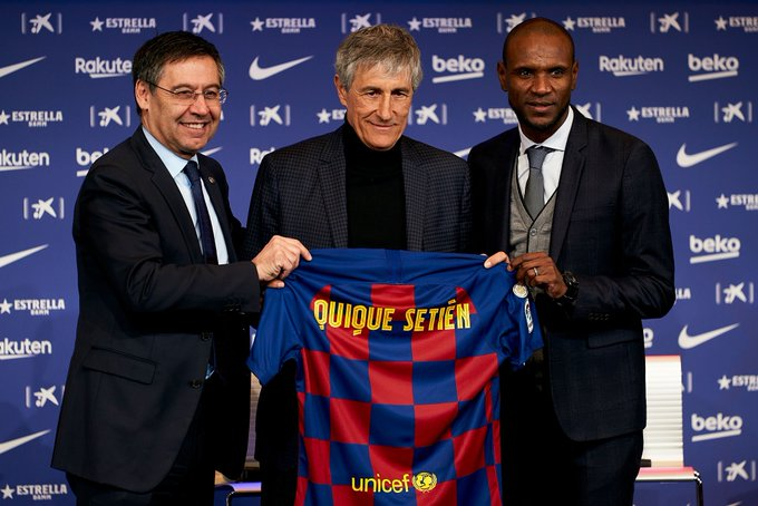 كيكي سيتين مدرب برشلونة الجديد مع ابيدال وبارتوميو