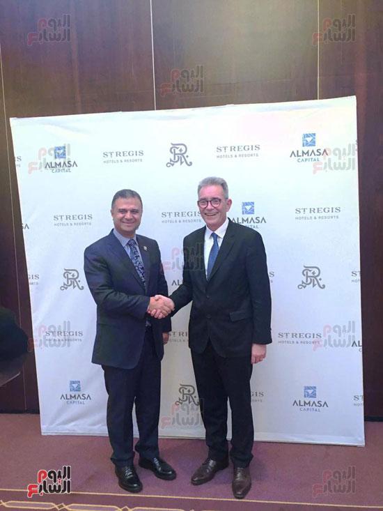 توقيع عقد إدارة ماريوت العالمية لفندق الماسة بالعاصمة الإدارية (2)