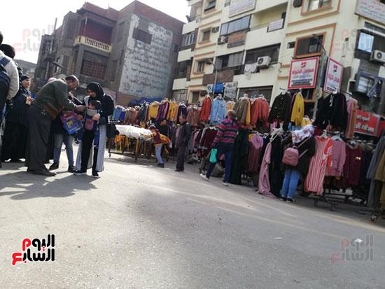 انتشار الباعة الجائلين بشوراع محافظة الجيزة  (10)
