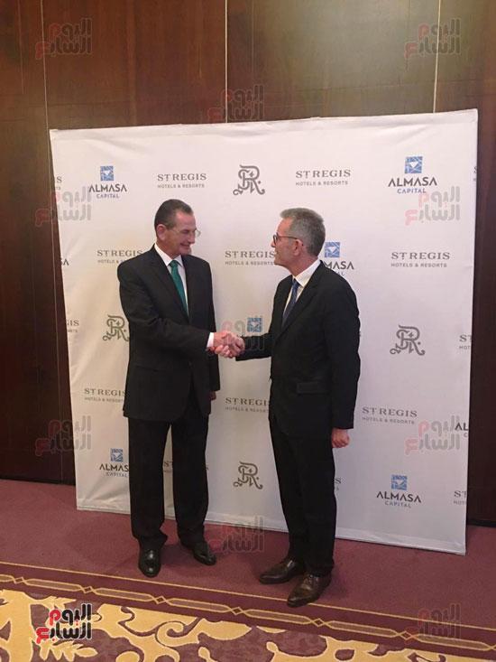 توقيع عقد إدارة ماريوت العالمية لفندق الماسة بالعاصمة الإدارية (36)