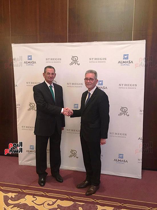 توقيع عقد إدارة ماريوت العالمية لفندق الماسة بالعاصمة الإدارية (34)