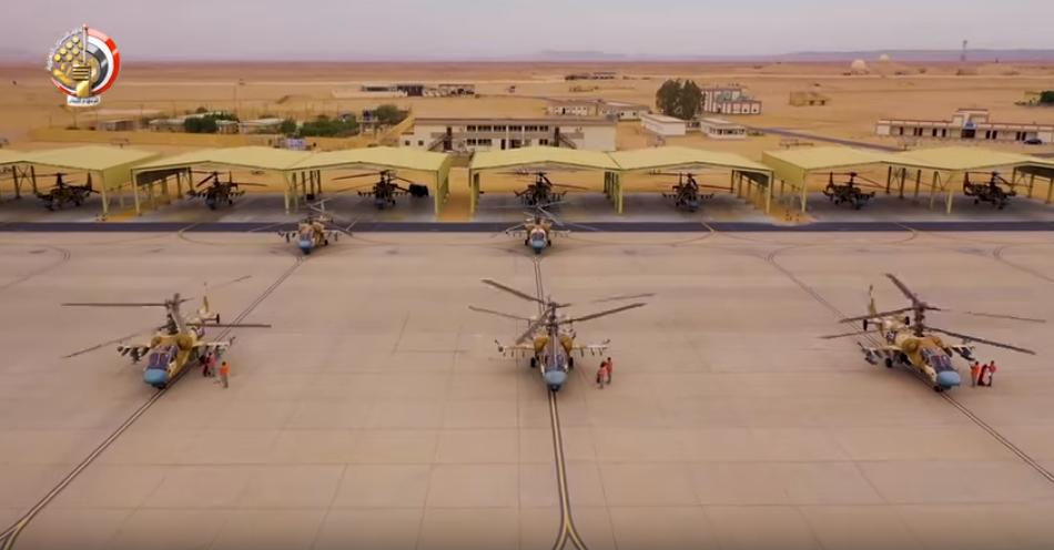 أحد القواعد الجوية المصرية