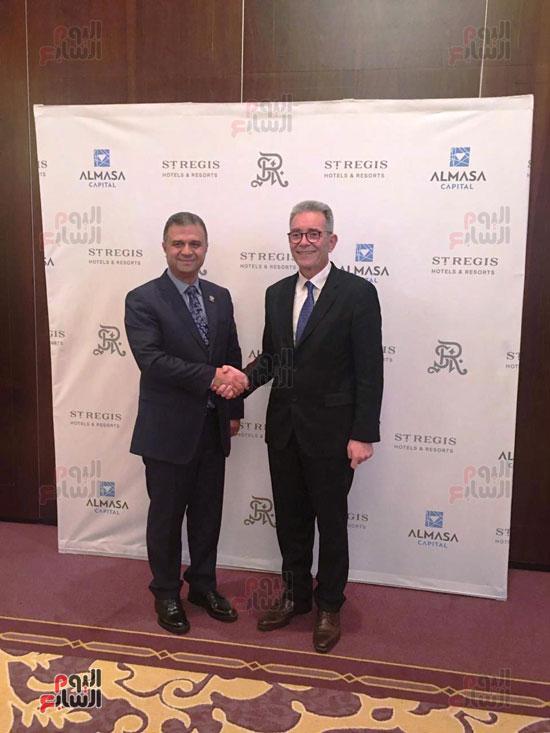 توقيع عقد إدارة ماريوت العالمية لفندق الماسة بالعاصمة الإدارية (3)
