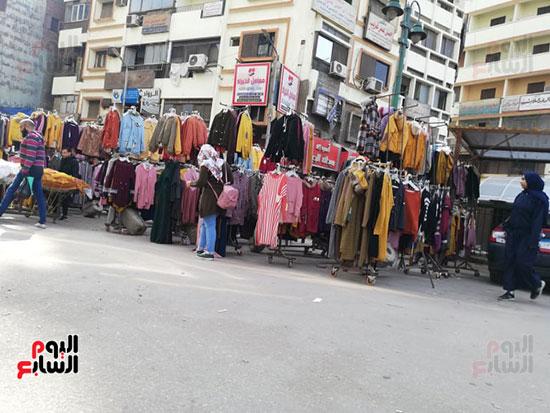 انتشار الباعة الجائلين بشوراع محافظة الجيزة  (15)
