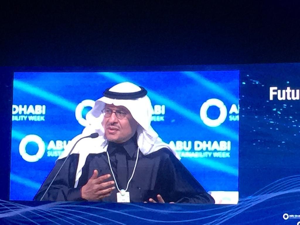 وزير الطاقة السعودي الامير عبد العزيز بن سلمان