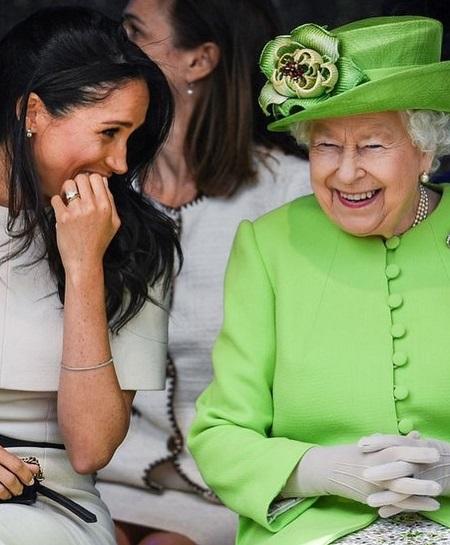 انسجام الملكة مع ميجان