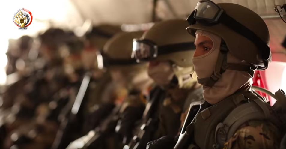 قوات المظلات بالجيش المصرى