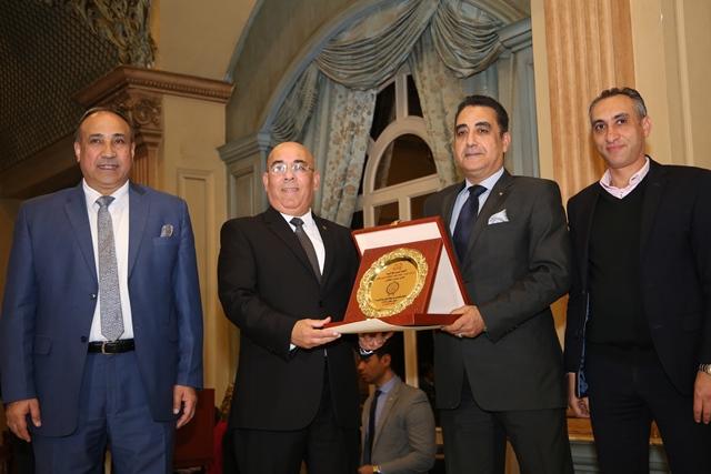 تكرم منتخب مصر للكاراتيه (10)