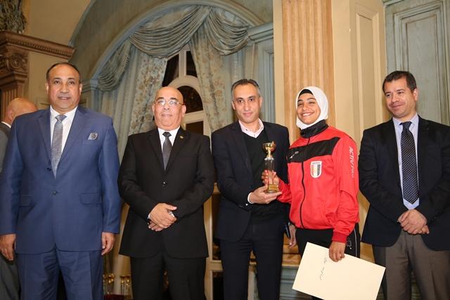 تكرم منتخب مصر للكاراتيه (6)