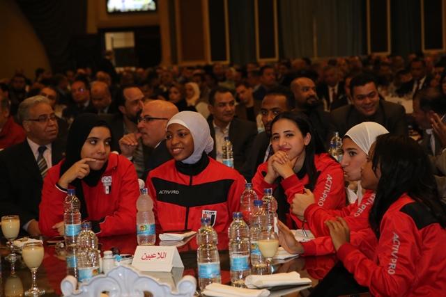 تكرم منتخب مصر للكاراتيه (1)