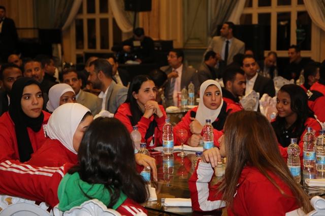 تكرم منتخب مصر للكاراتيه (2)