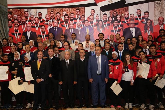 تكرم منتخب مصر للكاراتيه (13)