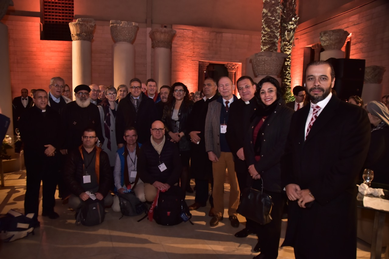 وفد الجمعية الوطنية للحج المسيحي يٌنهى زيارته نقاط رحلة العائلة المقدسة فى مصر (8)
