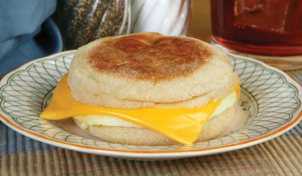 مافن البيض والجبن