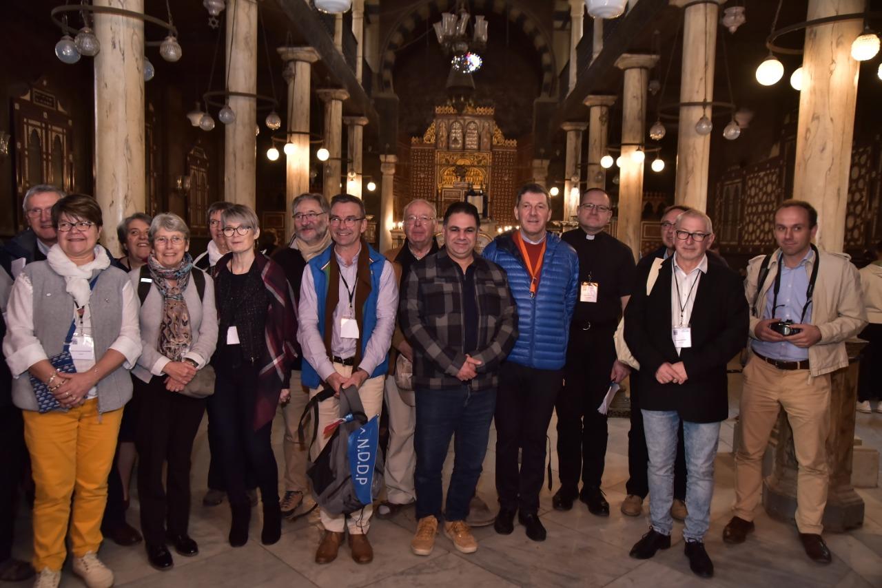 وفد الجمعية الوطنية للحج المسيحي يٌنهى زيارته نقاط رحلة العائلة المقدسة فى مصر (12)