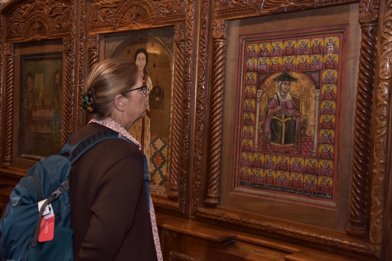 وفد الجمعية الوطنية للحج المسيحي يٌنهى زيارته نقاط رحلة العائلة المقدسة فى مصر (2)
