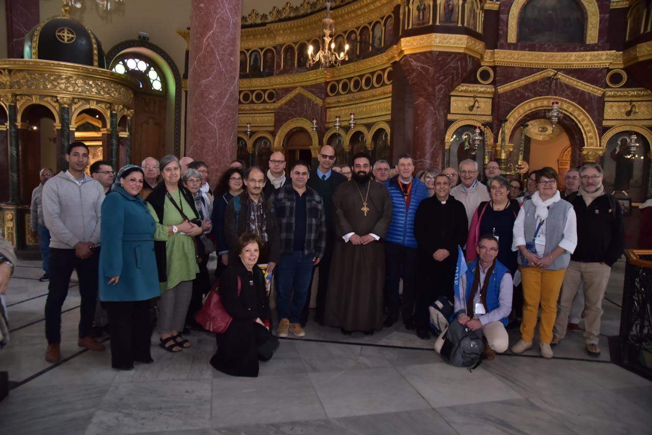 وفد الجمعية الوطنية للحج المسيحي يٌنهى زيارته نقاط رحلة العائلة المقدسة فى مصر (10)