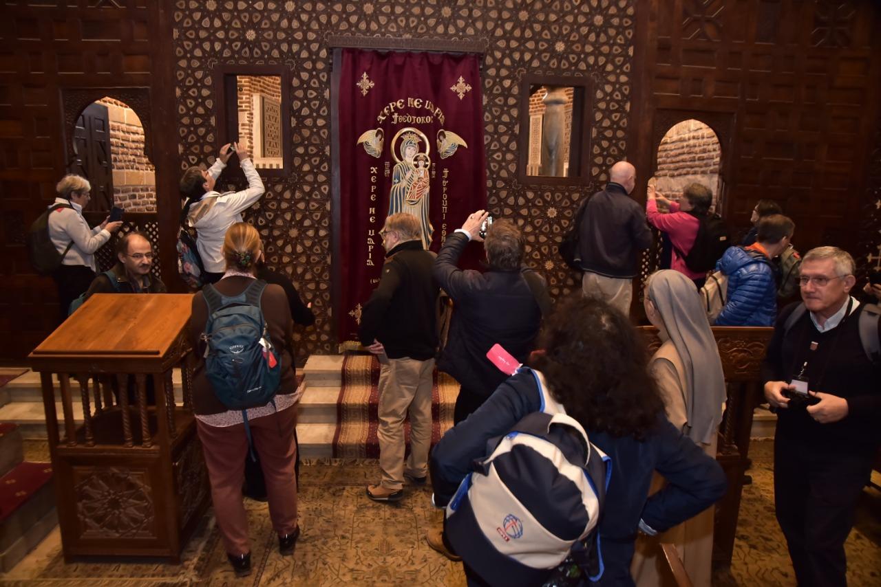 وفد الجمعية الوطنية للحج المسيحي يٌنهى زيارته نقاط رحلة العائلة المقدسة فى مصر (4)