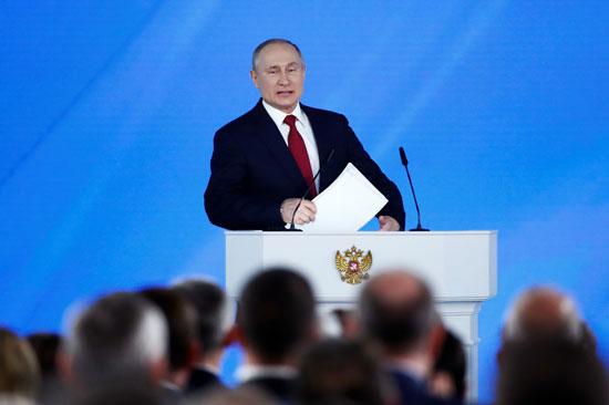 فلاديمير-بوتين-خلال-إلقاء-كلمته-بالبرلمان-الروسى