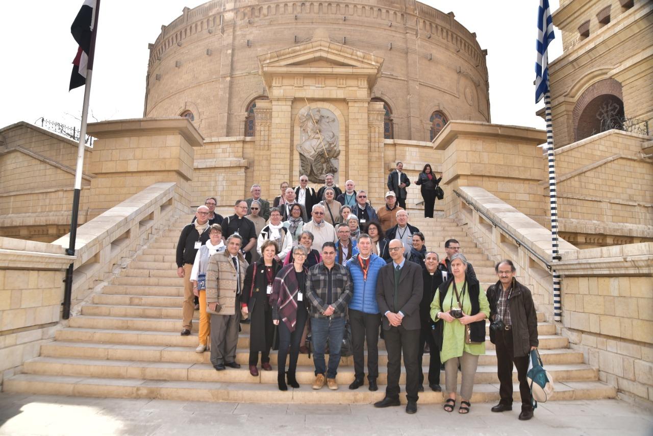 وفد الجمعية الوطنية للحج المسيحي يٌنهى زيارته نقاط رحلة العائلة المقدسة فى مصر (5)