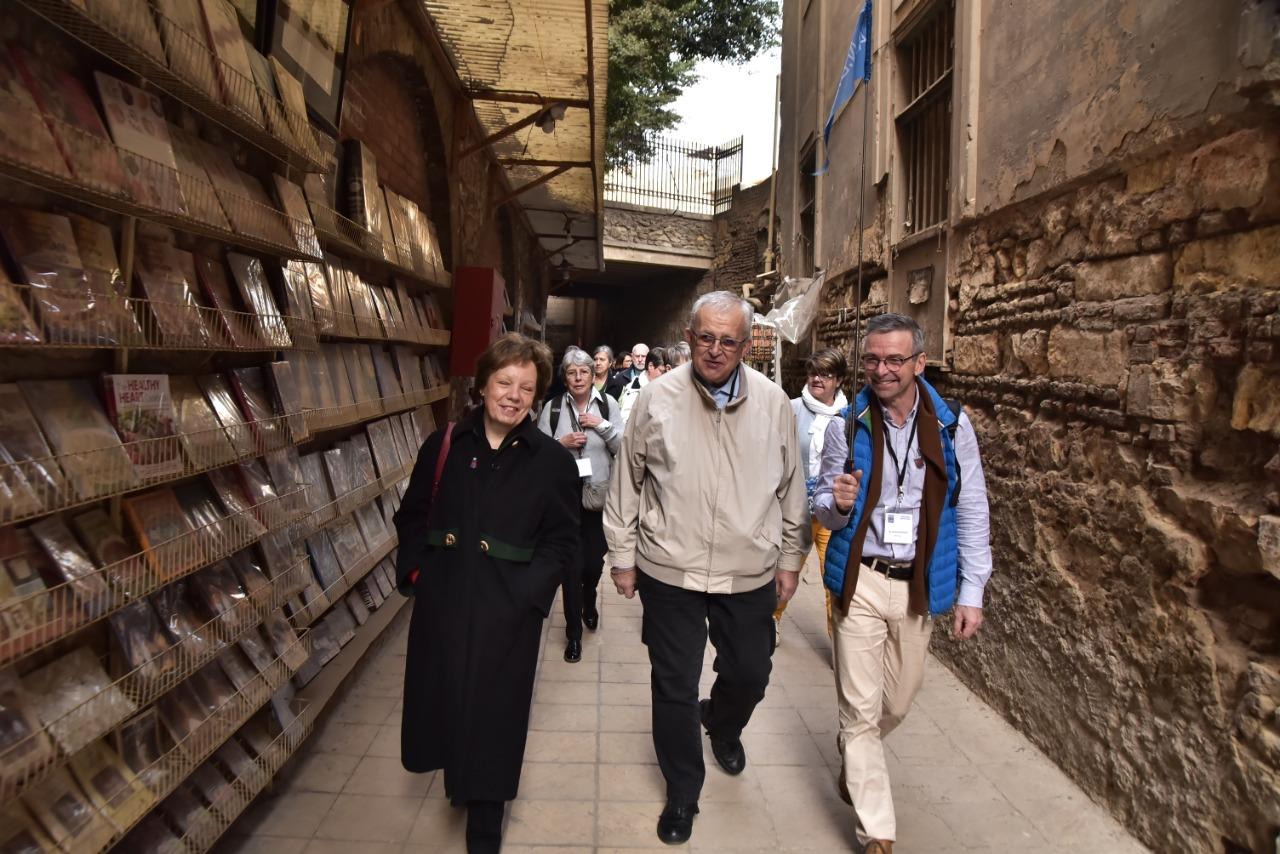 وفد الجمعية الوطنية للحج المسيحي يٌنهى زيارته نقاط رحلة العائلة المقدسة فى مصر (7)