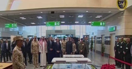 الرئيس عبد الفتاح السيسى يفتتح مطار برنيس
