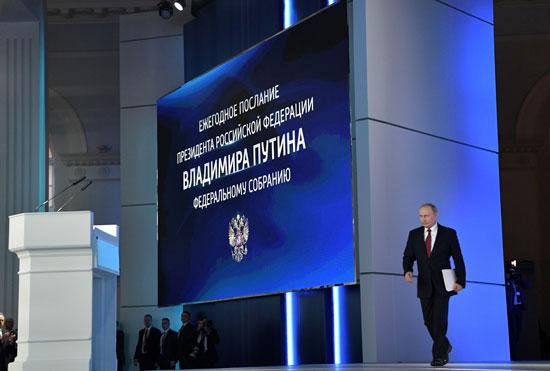 الرئيس-الروسى-يستعد-لإلقاء-كلمته