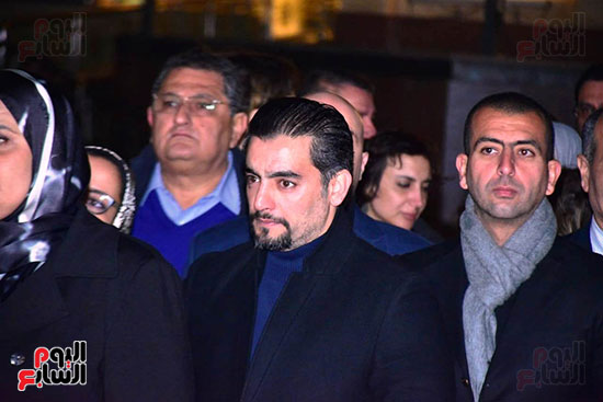 عزاء ابن مايا مرسى  (51)