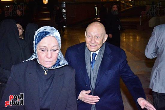 عزاء ابن مايا مرسى  (52)