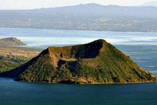 بركان تال بالفلبين (4)