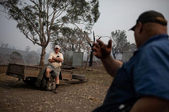 القطاع الزراعى فى أستراليا تلقى ضربة قاصمة بسبب الحرائق