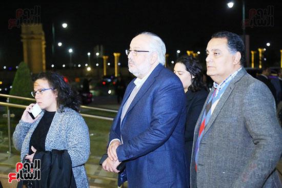 عزاء ابن مايا مرسى  (4)