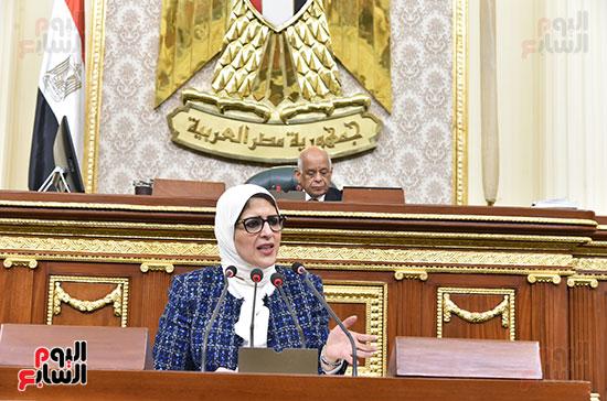 وزيرة الصحة ومستشفى بولاق (6)