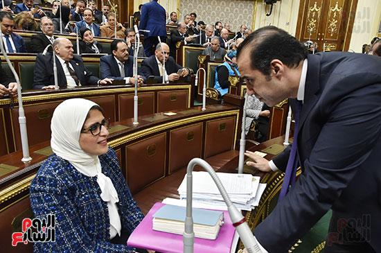 وزيرة الصحة ومستشفى بولاق (1)