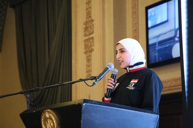 تكرم منتخب مصر للكاراتيه (9)