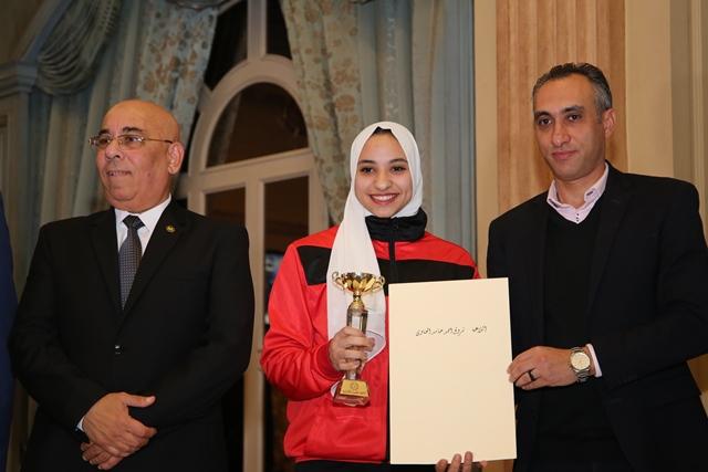 تكرم منتخب مصر للكاراتيه (5)