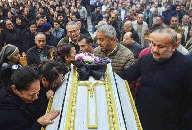 تشييع جثمان عروس الجنة الدكتورة سماح نبيل شهيدة ميكروباص طبيبات المنيا (3)