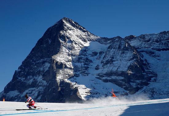 بطولة العالم للتزلج فى سويسرا
