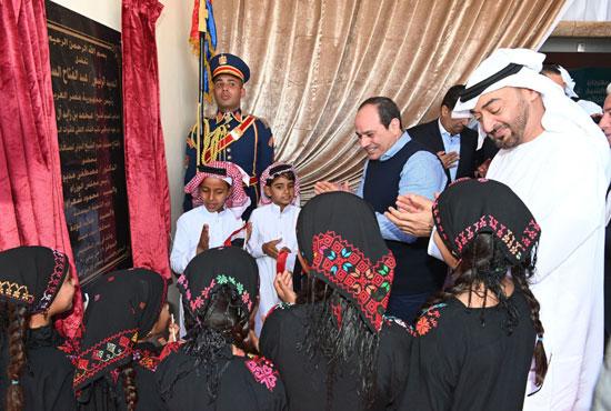 الرئيس عبد الفتاح السيسى يفتتح مضمار سباقات الهجن