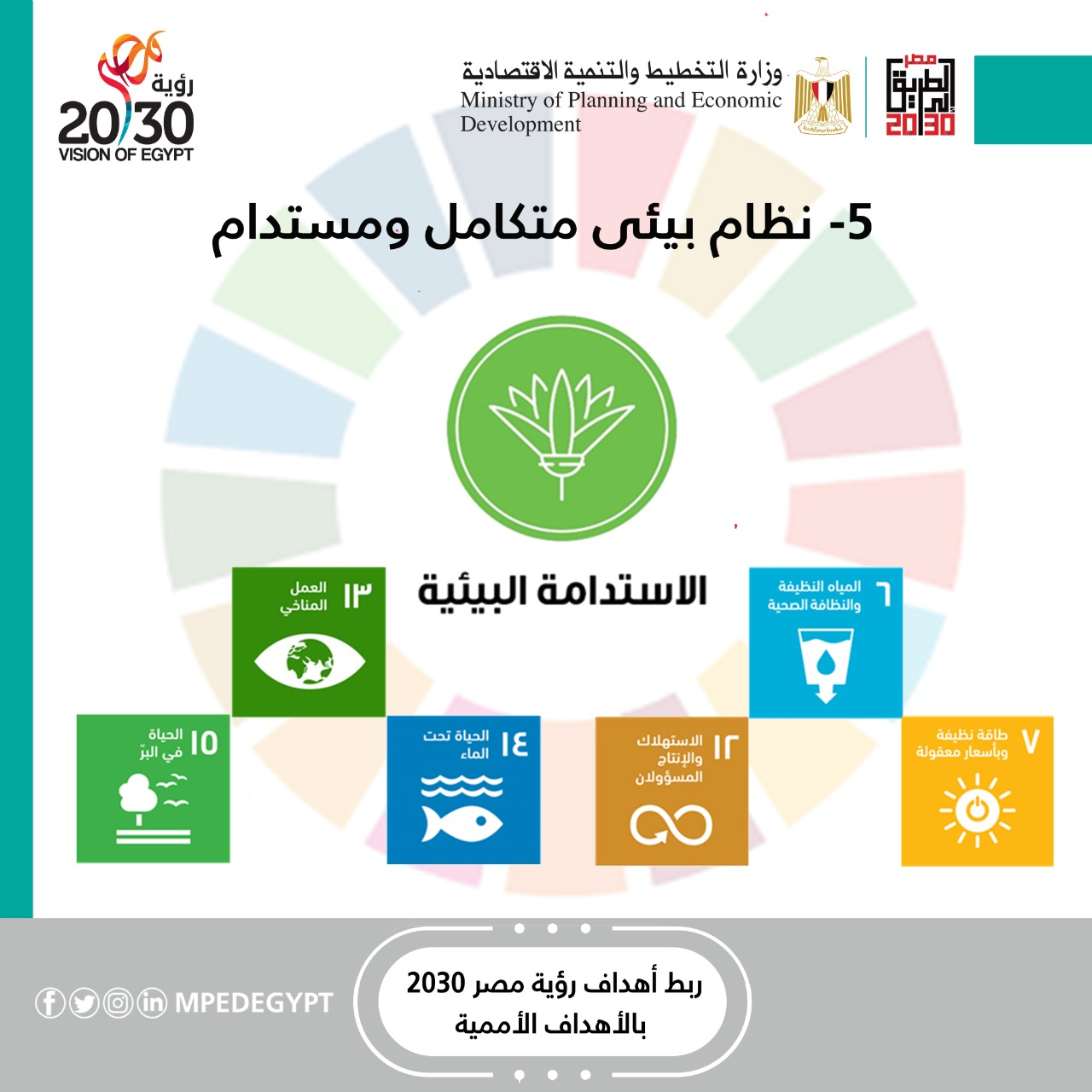 نظام بيئى متكامل ومستدام