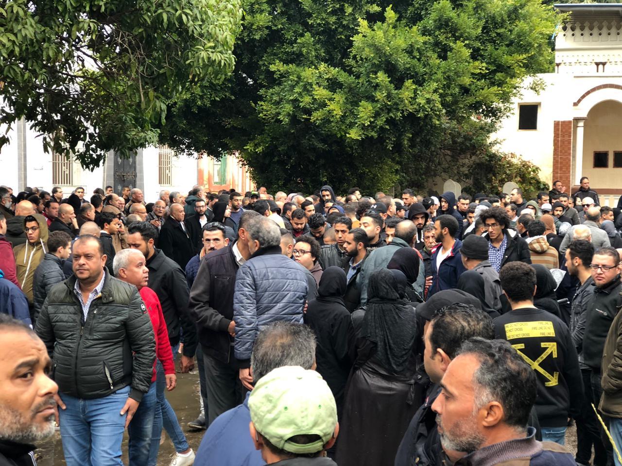 البورسعيدية يشيعون جنازة ناشىء المصرى