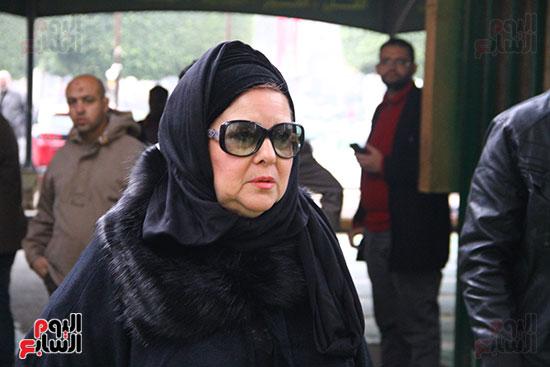 جنازة الفنانة ماجدة (2)