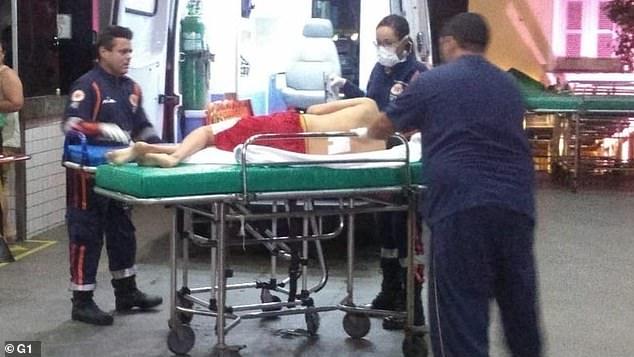 اسعاف المصابين